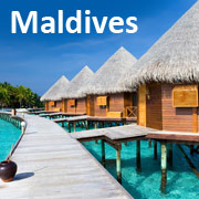 Maldives Tour Packages from Delhi with airfare