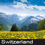 switzerland Tour Packages from Delhi with airfare