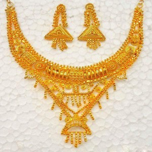 bridal gold jewellery