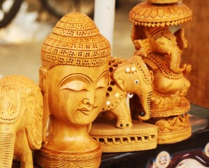sandalwood figurines