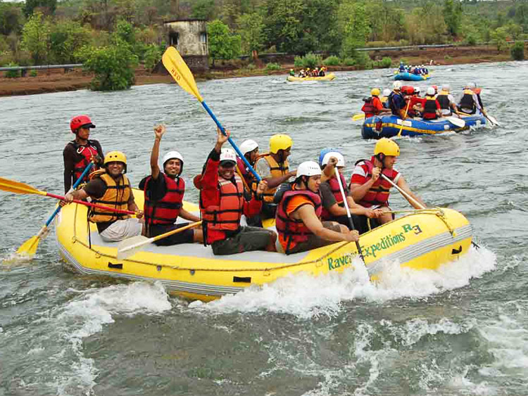 Team Building activities in Rishikesh