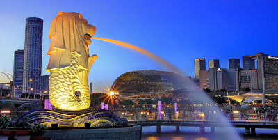 Singapore tour packages from india