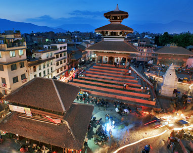 kathmandu tour package from delhi