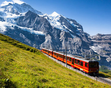Romantic Swiss trip